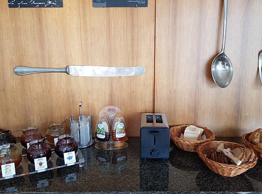 Hotel Moseltal in Mehring Frühstücksbuffet